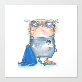 Pal-Swimmer Canvas Print