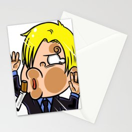 Sanji One Piece Anime Character Stationery Cards