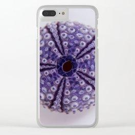purple urchin I Clear iPhone Case