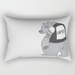 Empires Bear Print - BAND NAME ONLY Rectangular Pillow
