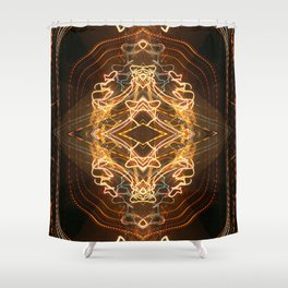 Celestial Shrine Shower Curtain