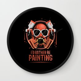 Painter And Varnisher Wall Clock