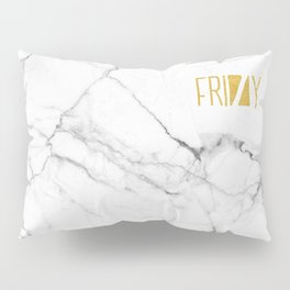 Friday gold marble Pillow Sham