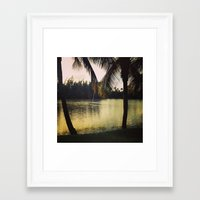 puerto rico Framed Art Prints featuring Puerto Rico by Tall Yellow Gal