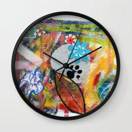 The cat Wall Clock