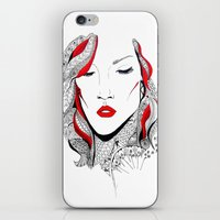 rihanna iPhone & iPod Skins featuring Rihanna  by Ina Spasova puzzle