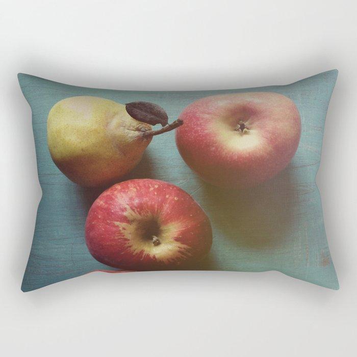 Autumn Apples Rectangular Pillow