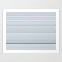 White Steps Art Print