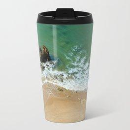 Rock in the Atlantic Ocean Travel Mug