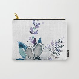 Watercolor water flower Carry-All Pouch