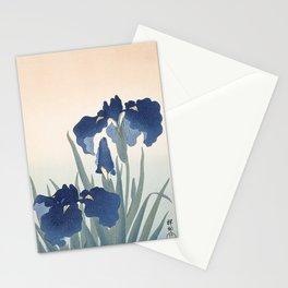 Irises, Ohara Koson, 1925 Stationery Cards