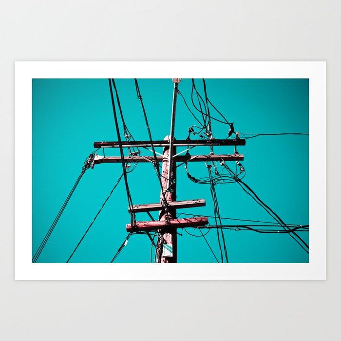 electric avenue Art Print