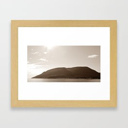 Gaspesie Coast Framed Art Print