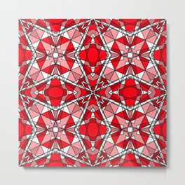 Red Ruby Metal Print