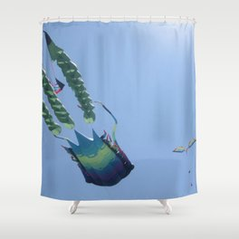 Sky Swimmers Shower Curtain