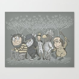 The Mild Rumpus Canvas Print