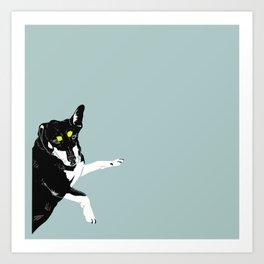 Carly Feelin Antisocial Art Print