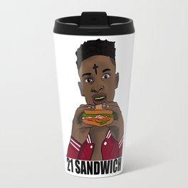 21 Sandwich Travel Mug