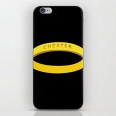 Cheater iPhone & iPod Skin