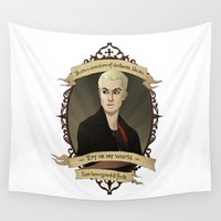 buffy Wall Tapestries featuring Spike - Buffy the Vampire Slayer/Angel by muin+staers