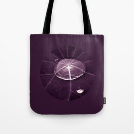 purple water drop XVI Tote Bag