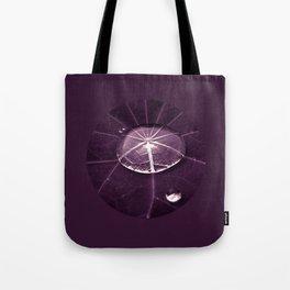 purple water drop XVI Tote Bag