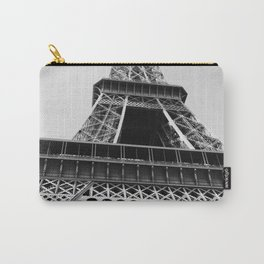 Eiffel Tower // Looking up at the World's Most Famous Monument in Paris France Classic Photograph Carry-All Pouch