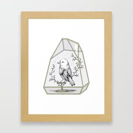 Little Companion Framed Art Print