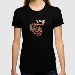 Celtic Fox Letter T T-shirt
