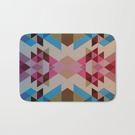 Abstract geometric I Bath Mat