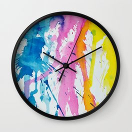 New Age Abstract Wall Clock
