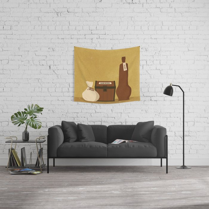 Gifts from the Magi Wall Tapestry