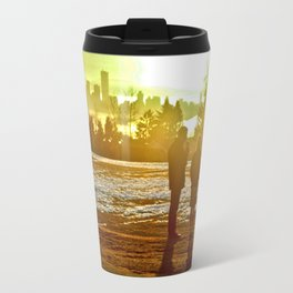 A Mix Of Sun And Snow Travel Mug