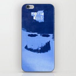 Post No Bills, but smile while doing it iPhone Skin