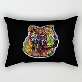 Kaleidoscope Bear  Rectangular Pillow