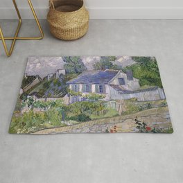 Houses in Auvers Rug