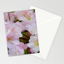 Blooming Azalea Flowers Stationery Cards