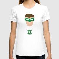 green lantern T-shirts featuring GREEN LANTERN by Roboz