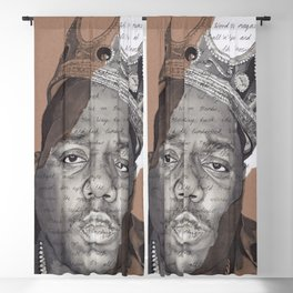 The Notorious BIG Blackout Curtain