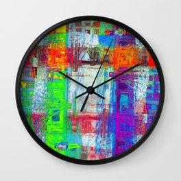 There's nothing waiting, there's nothing imminent, Wall Clock