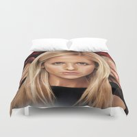 buffy the vampire slayer Duvet Covers featuring Buffy The Vampire Slayer  by SB Art Productions