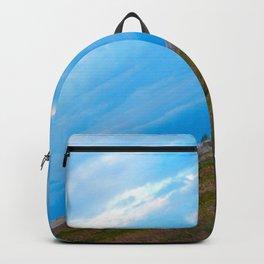 green caravan Backpack
