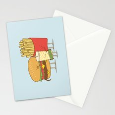 family meal Stationery Cards