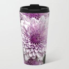 carnations Metal Travel Mug