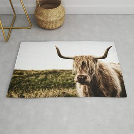 Highland Cow - color Rug