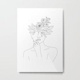 Movements Woman Metal Print