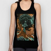 Glow Worms Unisex Tank Top