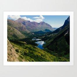 Swiftcurrent Valley Art Print