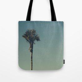 Vintage Film style Palm tree Tote Bag