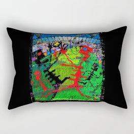 The Footballers  Rectangular Pillow